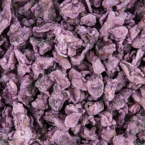 Echte Veilchen-Blütenblätter, blau-violett, kristallisiert, ca. 2cm, essbar, 1 kg