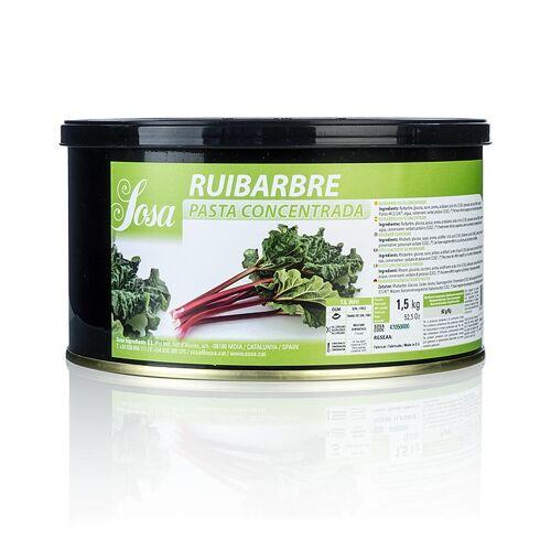 Paste - Rhabarber, 1,5 kg