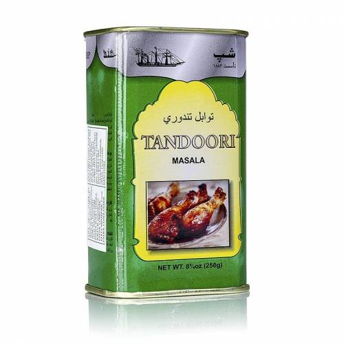 Tandoori Masala-Gewürzzubereitung, Pulver, Poonjiaji, 250 g
