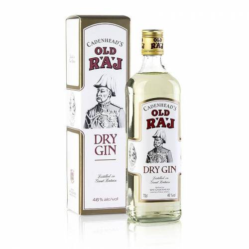 Cadenhead Old Raj Gin, mit Safran, 46% vol., 700 ml