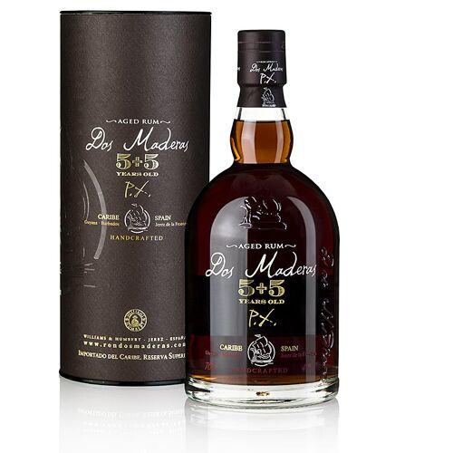 Dos Maderas Rum 5 + 5 years old P.X.Guyana & Barbados, 40% vol., 700 ml