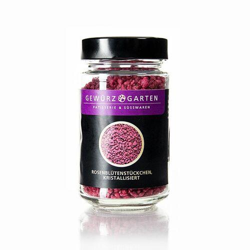 Gewürzgarten Rosenblüten-Stückchen, kristallisiert, 140 g