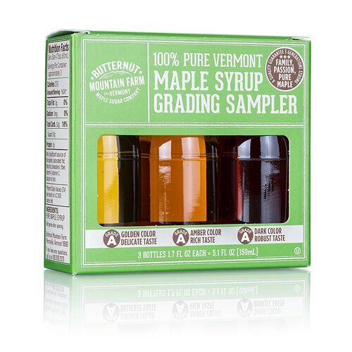 Ahornsirup-Testbox A Grade (Golden, Amber, Dark), 150 ml, 3 x 50ml