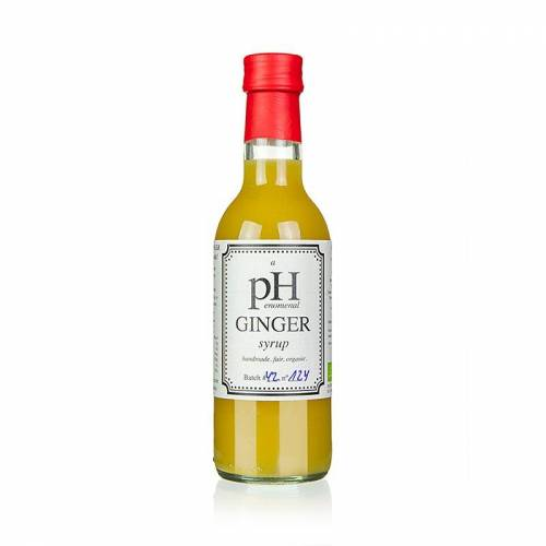pHenomenal Ginger Syrup (Ingwer Sirup), vegan, BIO, 250 ml