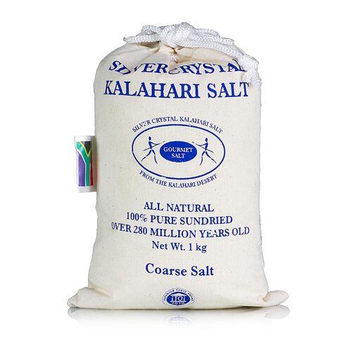 Silver Crystal Salz aus der Kalahari, grob, 1 kg