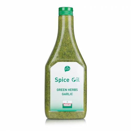 Gewürzöl Grüne Kräuter und Knoblauch, Verstegen, 870 ml