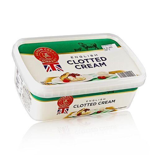 Englische Clotted Cream, feste Rahm-Creme, 55% Fett, 1 kg