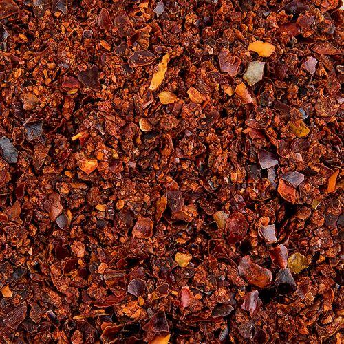 Chili rot, mild, geschrotet, 2-4mm, 1 kg