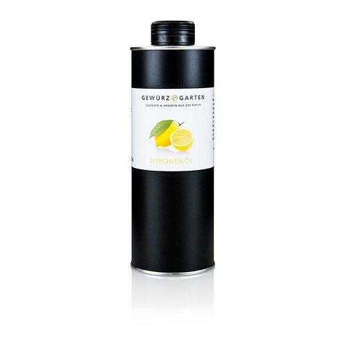 Gewürzgarten Zitronenöl in Rapsöl, 500 ml
