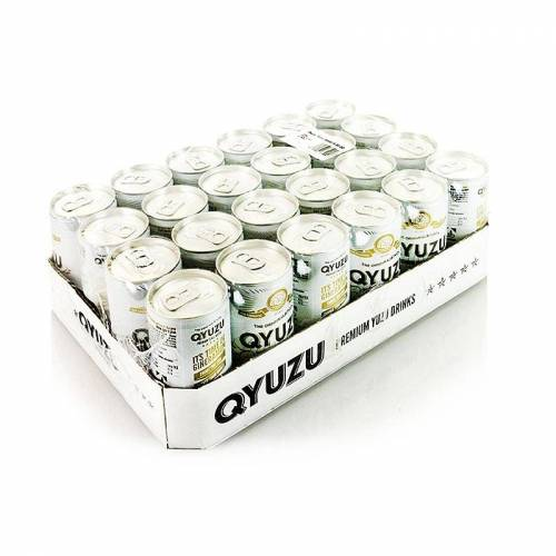 Qyuzu - Tonic Water, mit reinem Yuzu Saft, 4,8 l, 24 x 200ml