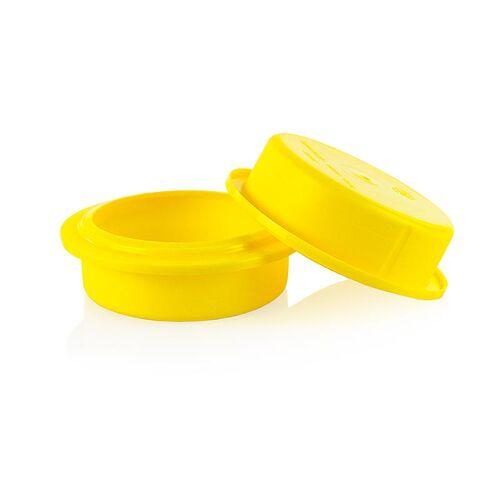 PACOJET Becherdeckel, gelb, 1 St