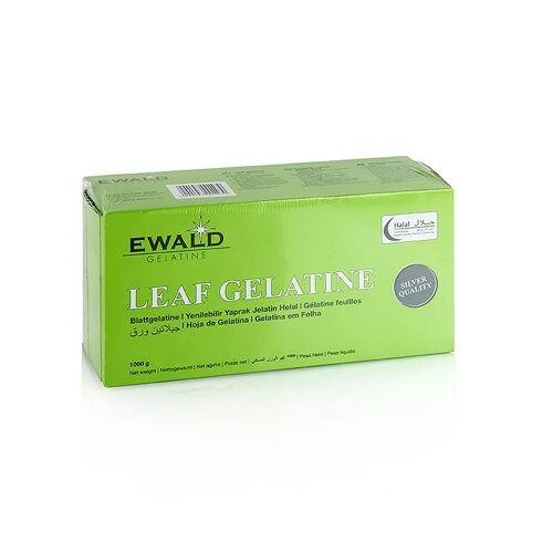 Blatt Gelatine Rind, Halal, 1 kg, ca.400 St