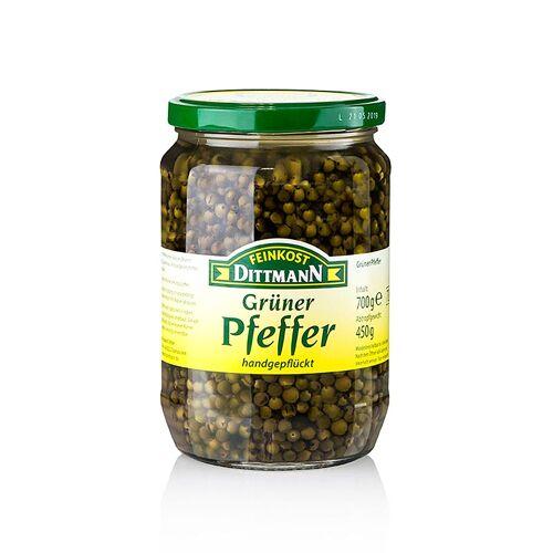 Grüner Pfeffer, in Salzlake, 700 g