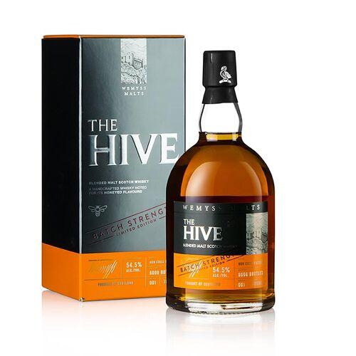 Blended Malt Whisky Wemyss, The Hive, Fassstärke, 55,5% vol., Schottland, 700 ml