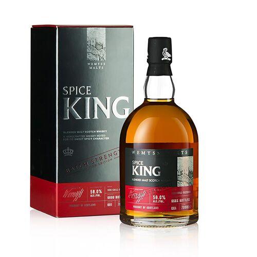 Blended Malt Whisky Wemyss, Spice King, Fassstärke, 58% vol., Schottland, 700 ml