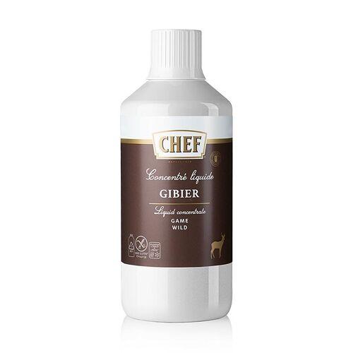 CHEF Premium Konzentrat - Wildfond, flüssig, für ca.34 Liter, 1 l