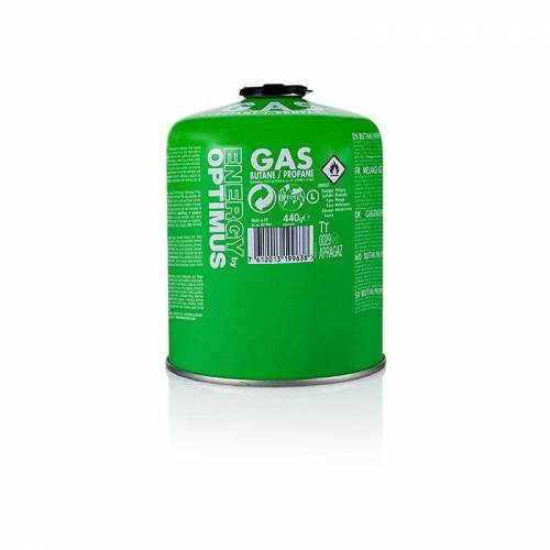 Grillzubehör - Gas-Kartusche Optimus für Gasgrill Travel Q Serie, 440 g