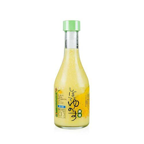 Yuzu Saft Shibotte, frisch, 100% Yuzu, 300 ml