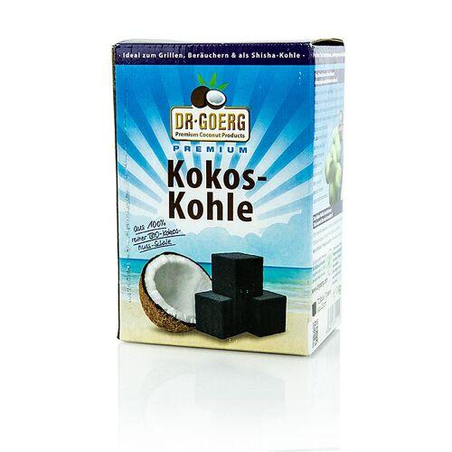 Grill BBQ - Kokoskohle, premium, Dr.Goerg, 1 kg