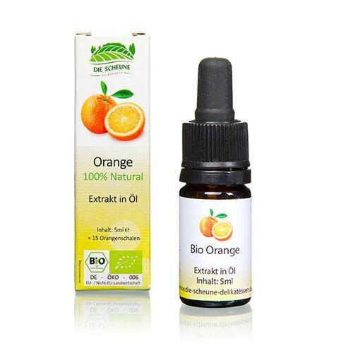 Natürliches Orangen Aroma, Die Scheune, BIO, 5 ml