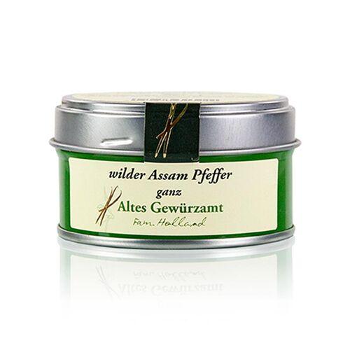 Wilder Assam Pfeffer, ganz, Altes Gewürzamt, 30 g