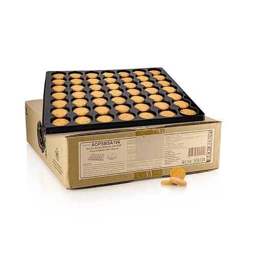 Sable Breton, herzhafter Keks mit franz. Butter, ø 35x8mm, 784 g, 196 St