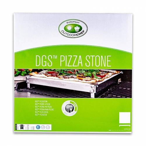 Outdoorchef-Zubehör- Pizzastein für alle Dualchef Grills, 1 St