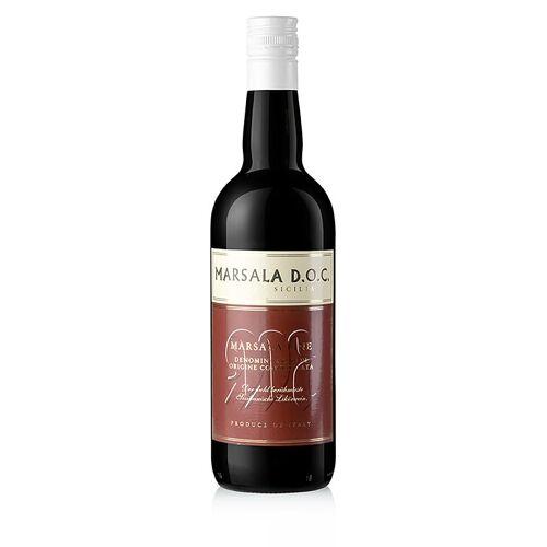 Marsala-Wein, halbtrocken, 17% vol., 750 ml