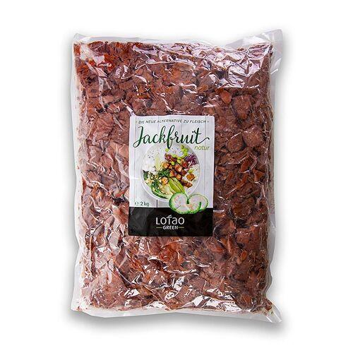 Jackfruit Fruchtfleisch, natur, gewürfelt, vegan, Lotao, BIO, 2 kg