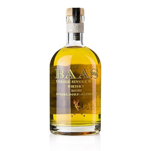 Single Malt Whisky Uerige Baas, 5 Jahre, Laddie Cask, 46,8% vol., Düsseldorf, 500 ml