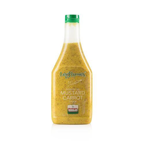 Leghumes - Sauce aus fermentierter Karotte & Senf, Verstegen, 875 ml