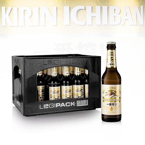 Kirin Bier, 5% vol., Japan, 7,92 l, 24 x 330ml