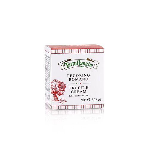 TARTUFLANGHE Crema Pecorino, Käse Sauce mit Trüffel, 90 g