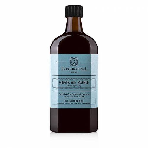 Rosebottel Ginger Ale Essence (Essenz) Sirup, 500 ml