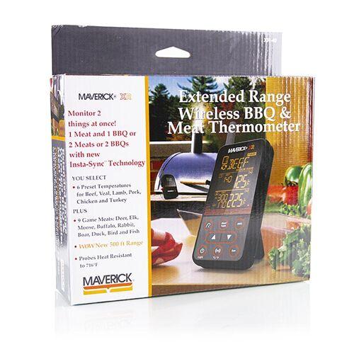 Digital Thermometer Set Wireless BBQ & Meat, XR-40 (Funk), Maverick, 1 St