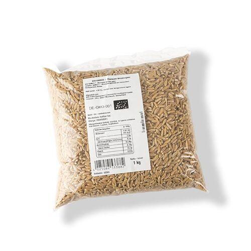 KAMUT® Khorasan Weizen Vollkorn, ganz, BIO, 1 kg