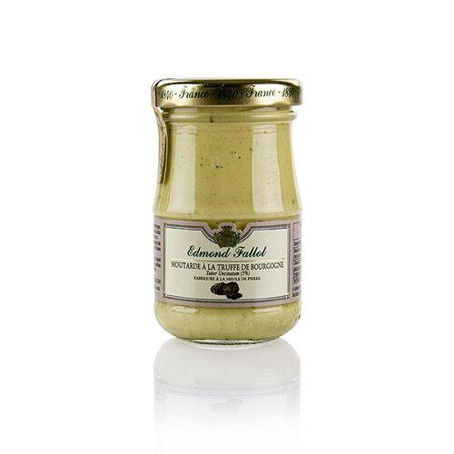 Dijon Senf, fein, mit Burgundertrüffel (tuber uncinatum), Fallot, 100 ml