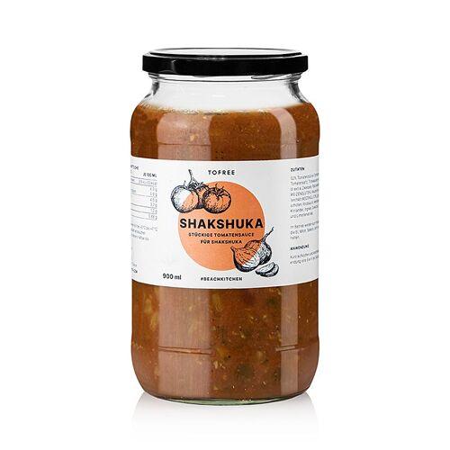 Shakshuka, Tomatensaucenbasis für die Eierspeise, TOFREE-north, 900 ml