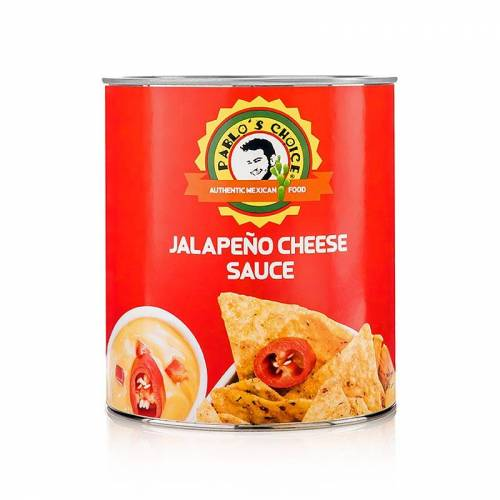 Jalapeno Cheese Sauce,  Pablos Choice, 3 kg