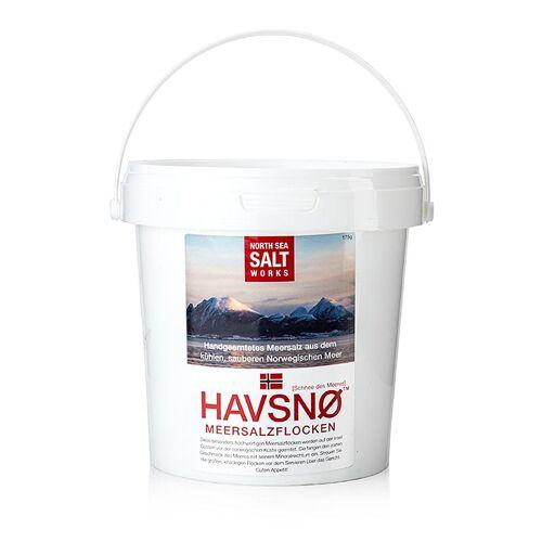HAVSNØ Meersalzflocken, 650g, North Sea Salt Works (Norwegen), 650 g