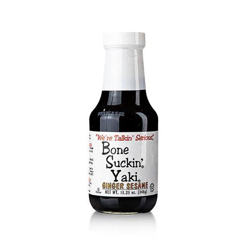 Bone Suckin´ Wing Sauce, Teriyaki & Ingwer, Ford´s Food, 392 ml