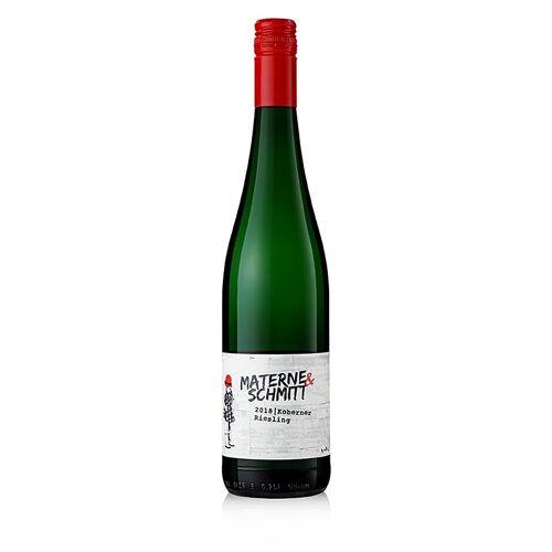 2018er Koberner Riesling , 12,5% vol., Materne & Schmitt, 750 ml