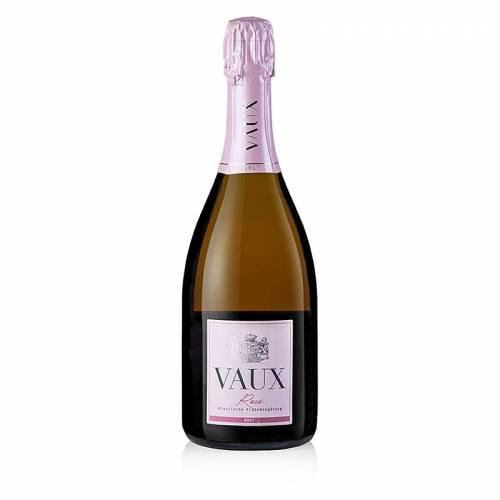 2018er Rosé Sekt, brut, 12% vol., Schloß Vaux, 750 ml