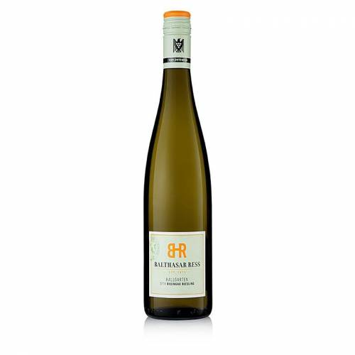 2018er Hallgarten Riesling, süß, 12% vol., Balthasar Ress, 750 ml
