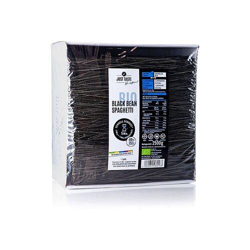 Nudel Black Bean Spaghetti, Just Taste, BIO, 2,5 kg