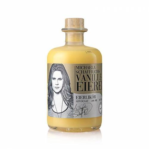 Michaela Schaffraths Vanille-Eierei - Vanille Eierlikör, 20% vol., 500 ml
