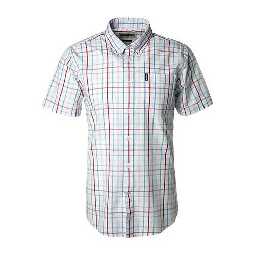 Barbour Hemd Tattersall white MSH4750WH11 WeißS
