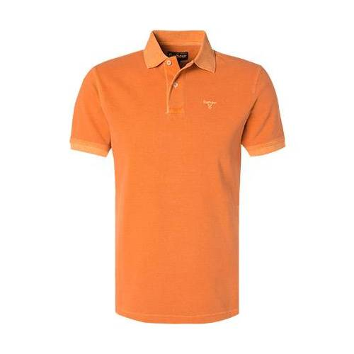 Barbour Washed Polo-Shirt MML0652OR15 orangeS