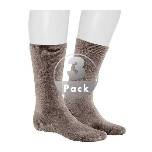 Kunert Men Homesocks Socke 3er Pack 860510/8190 braun43-46