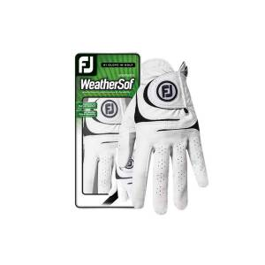 FootJoy WeatherSof Golf-Handschuh Damen   LH weiß S